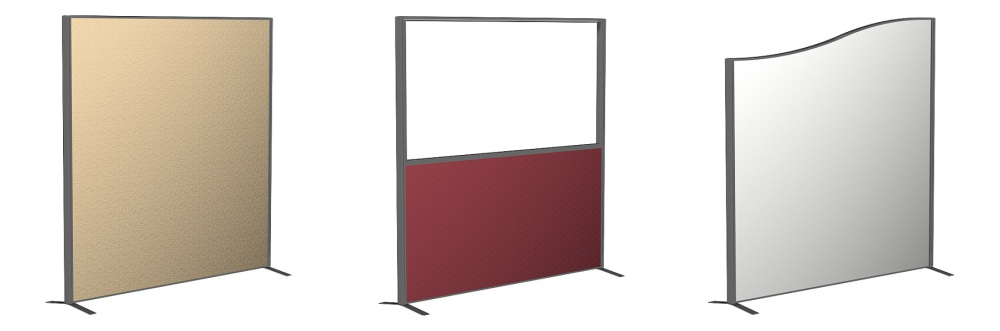 Office Partitions, Dividers & Screen Systems