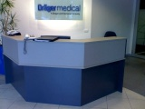 Excel Angled Reception Desk