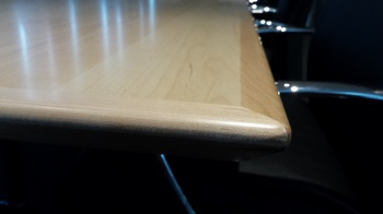 Timber Veneer Boardroom Table