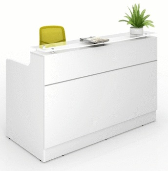 Classic Reception Counter - white
