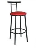 Zoe stool with back