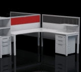 Axis 90 degree workstation