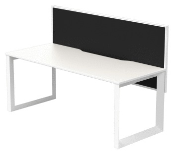 Quantum single desk with Connect 30 screen