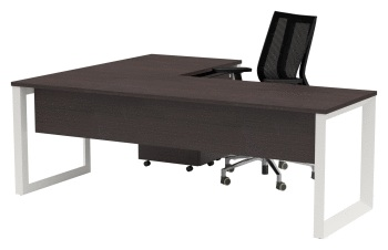 Quantum Executive Desk and Return