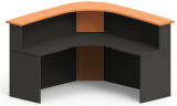 Excel Ergocurve Reception Desk