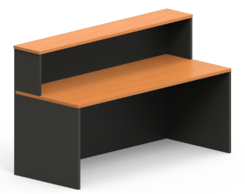 Excel Straight Reception Desk