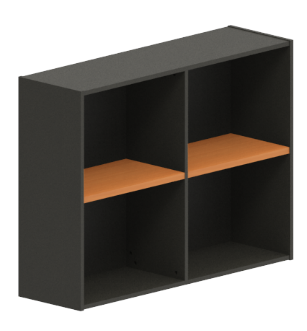 Excel Open Wallmount Shelf