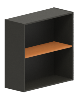 Excel Wallmount Cabinet with Shelf