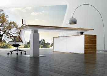 Evolution Electric Height Adjustable Executive Desk