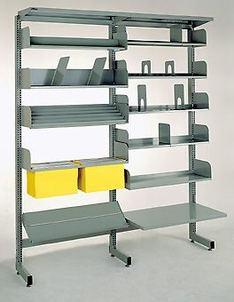 Brownbuilt Library Shelving