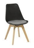 Virgo Timber Leg Chair