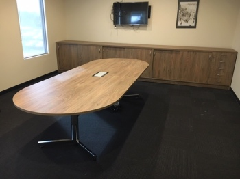 """D"" End Boardtable & Custom Buffet"