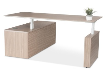 Kingston Executive Height Adjustable Desk Setting