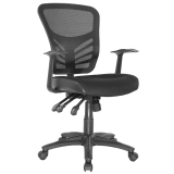 Yarra Mesh Ergonomic Operator Chair with arms
