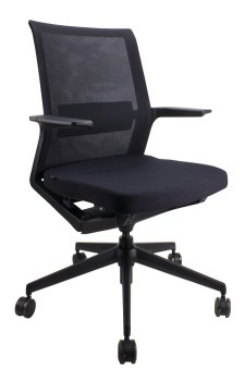Iris Mid Back multi-purpose chair, with arms