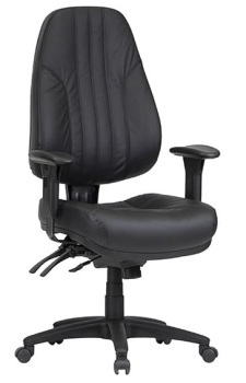 Rover High Back Ergo Leather