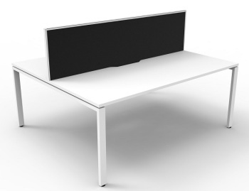 Rapid Deluxe Profile Double Desk