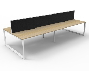 Rapid Deluxe Loop 4 Person Desk