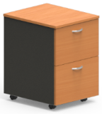 Mobile Pedestal - 2 File Drawers
