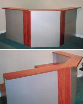 ER12 Angled Reception Desk