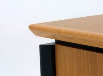 Contour Solid Timber Sharknose Edge Detail