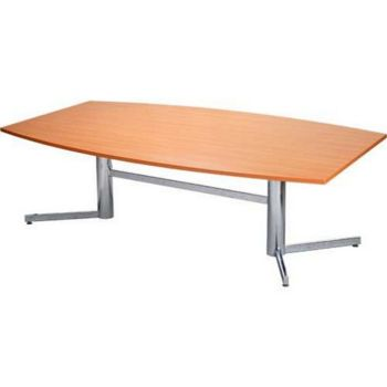 OM Board Room Table- Chrome Legs