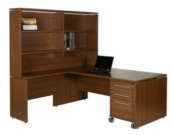 Aspire Desk, Return and Hutch