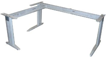 Tech adjustable workstation frame