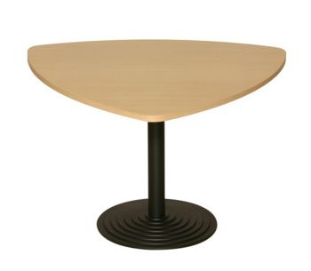 Black Disc Base with Tri Top